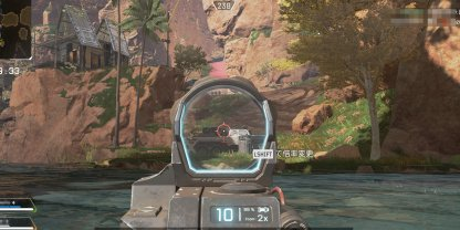 1x - 2x Variable Holo Sight