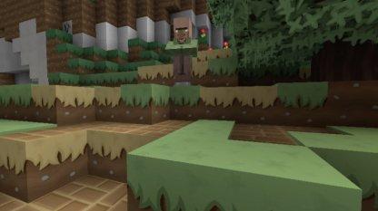 Clean Cartoon Minecraft