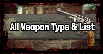 red dead redemption 2 all weapon stats list rdr2