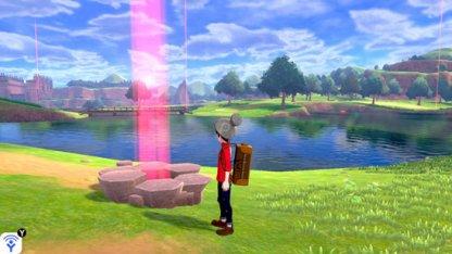 Pokemon Den Red Light Wild Area