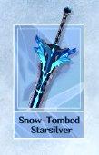 Snow Tombed starsilver