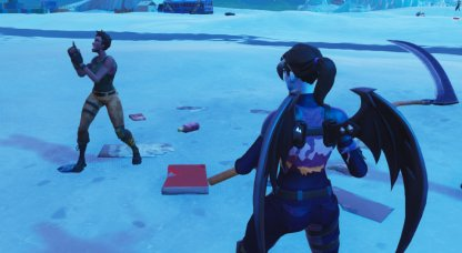 Hit a Player with a Snowball - 14 Days of Fortnite Challenge