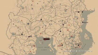 Explore Huge Open World Map