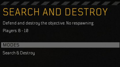 Search And Destroy Mode - Multiplayer Tips & Guides