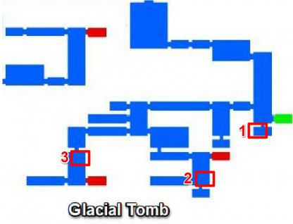 Glacial Tomb - Breakable Walls & Secret Rooms