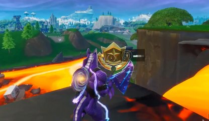 Season 8 Week 5 Secret Battle Star Location Close Up