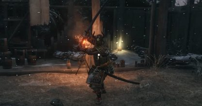 Sekiro Shadows Die Twice Boss General Naomori Kawarada