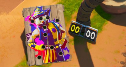 Get a Score of 10 or More on a Carnival Clown Board Challenge