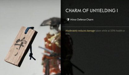 Receive Charm Of Unyielding