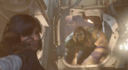 Run away from the hulk