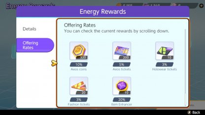 Can Be Pulled From Energy Rewards