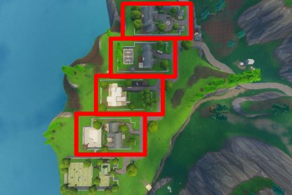 Fortnite Season 6 Week 4 Challenge Doorbell Location Snobby Shores