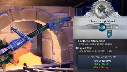 Bring Hammer To Break Down His Armor