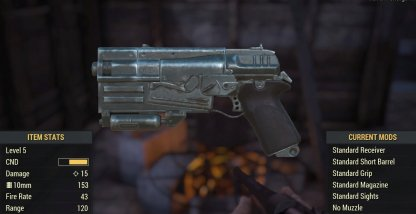 Fallout 76 | All Weapon List - Damage, Level & Stats