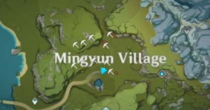 Mingyun Map 1