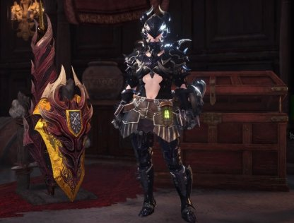 Highly Flexible Taroth Crest Claw Lance Loadout