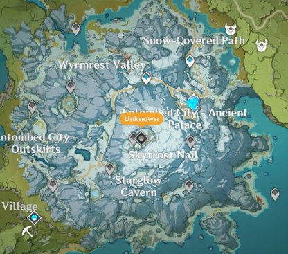 Dragonspine Map