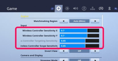 How to Adjust Controller Sensitivity
