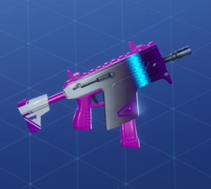 HEX WAVE Wrap - Submachine Gun