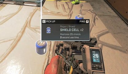 Apex Legends Prioritize Picking Up Shielded Recovery Items