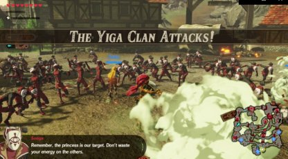 ???: The Yiga Clan Attacks - Level & Characters