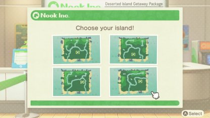 Choose From 4 Islands Before Starting!