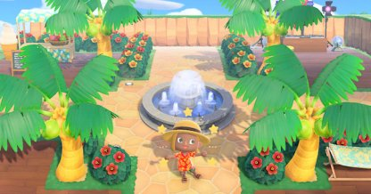 Acnh Park Design Ideas How To Make A Playground Animal Crossing Gamewith