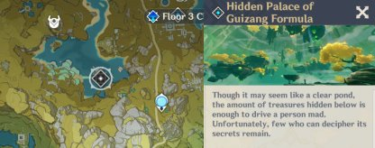 Hidden Palace Of Guizang Formula - Recommended Party