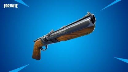 New Weapon - Double Barrel Shotgun
