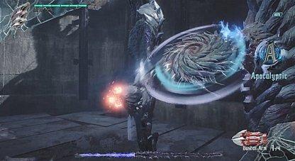 Spinning Blade Attack
