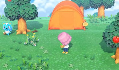 Villager Tents Are Rounded & Differently-Colored
