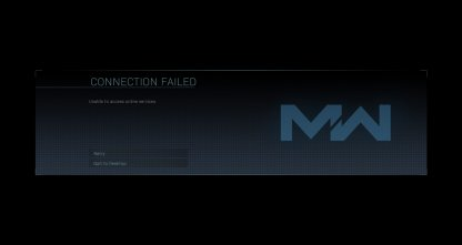 What is the Connection Failed Error?