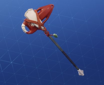 Pickaxe Skin RESCUE PADDLE