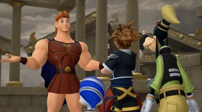 Kingdom Hearts 3 | KH3 All Golden Hercules Doll Location