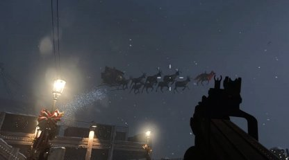 COD Santa Easter Egg Winter Docks