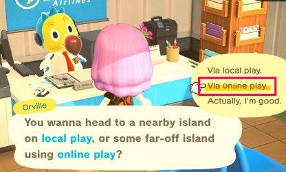 Choose Via Online Play