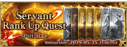 Rank Up Quest Part Six banner