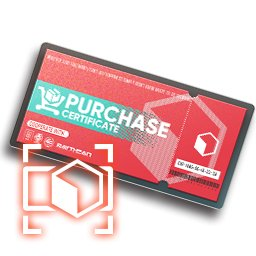 Purchase Certificate