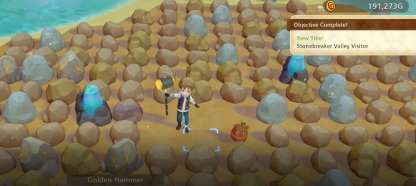 Farm Mine 3 Until Unlocking Stonebreaker Valley