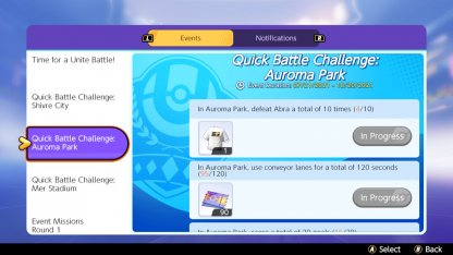 Challenge Missions Held In Quick Battles