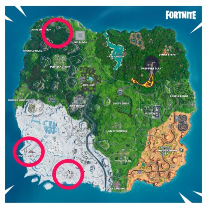 Driftboard Recommended Locations