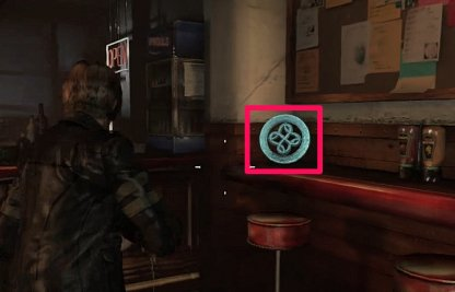 Leon Chapter 1 Emblem 4 Location