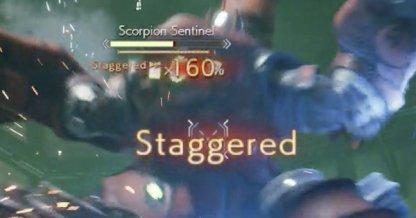 Staggering Enemies