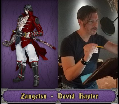 Zangetsu English Voice Actor - David Hayter