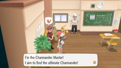 Charmander Master Trainer
