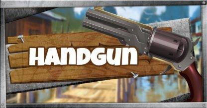 Handgun - Weapon List