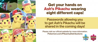 Pikachu limited time