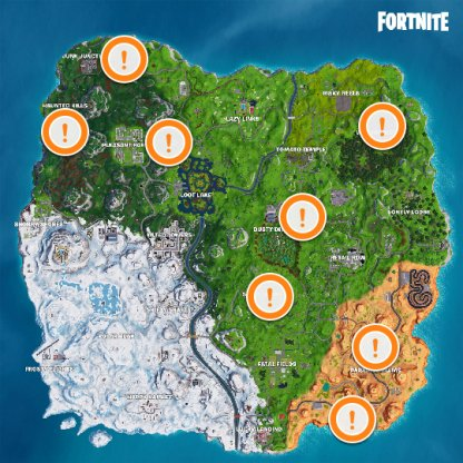 Quadcrasher Locations