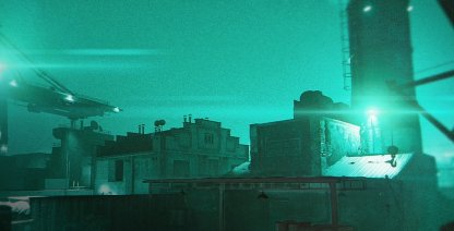 Hackney Yard (Night)