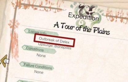delex outbreak
